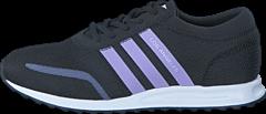 adidas Originals - Los Angeles J Core Black/Purple Glow S16/Ftw