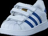 adidas Originals - Superstar Cf I Ftwr White/Eqt Blue S16/Ftwr W