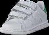 adidas Originals - Stan Smith Cf I Ftwr White/Ftwr White/Green