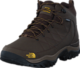 The North Face - Men's Storm Strike WP Slate Grey/ Leopard Yellow