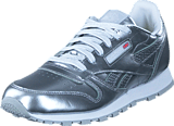 Reebok Classic - Classic Leather Metallic Silver/White