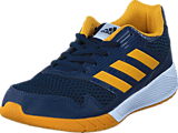 adidas Sport Performance - Altarun K Collegiate Navy/Tactile Yellow