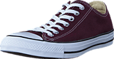 Converse - All Star Seasonal Ox Dark Sangria