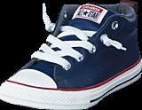 Converse - All Star Street Ltr Fleece Mid Midnight Navy/Terra Red/Egret
