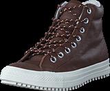Converse - Boot PC Tumbled Leather Hi Dark Clove/Dark Clove/Egret