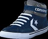 Converse - Pro Blaze Strap Ltr Suede Hi Navy/Storm Wind/White