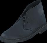 Clarks - Desert Boot Black Smooth Lea