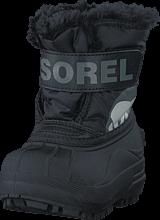 Sorel - Snow Commander Toddler 010 Black
