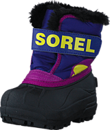 Sorel - Snow Commander Toddler 484 Grape Juice, Bright Plum