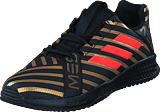 adidas Sport Performance - Rapidaturf Messi K Core Black/Solar Red/Gold Met