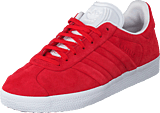 adidas Originals - Gazelle Stitch And Turn Collegiate Red/Ftwr White