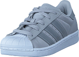 adidas Originals - Superstar C Lgh Solid Grey/Silver Met/Wht