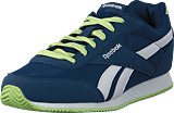 Reebok Classic - Royal Cljog 2 Washed Blue/White/Lime Glow