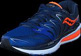 Saucony - Hurricane Iso 2 Navy/blue/orange