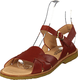Angulus - Sandal With Buckle Rust