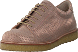 Angulus - Sneaker With Plateau Sole Copper Glitter