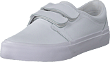 DC Shoes - Trase V Se White/White/Athletic Red