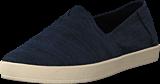 Toms - Avalon Navy Slubby Cotton