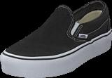 Vans - Ua Classic Slip-on Platform Black