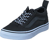 Vans - Uy Old Skool Elastic Lace Check Lace Black/true White
