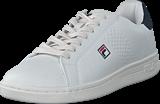 Fila - Crosscourt 2 F Low White/dress Blue