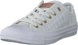 Converse - Chuck Taylor All Star White/tan/mouse