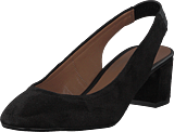 Pieces - Psmalva Suede Shoe Black