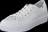 Keds - Triple Kick Leather White